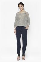Shimmer Mesh Knitted Jumper