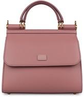 Dolce & Gabbana Sicily 58 Small Leather Handbag