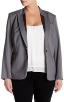 Lafayette 148 New York Virginia Wool Blend Jacket (Plus Size)