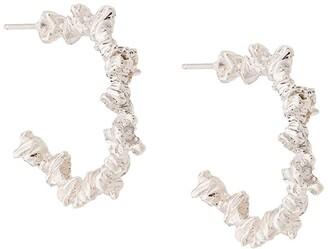 Niza Huang Under Earth hoop earrings