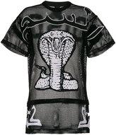 Kokon To Zai cobra embroidered oversized T-shirt