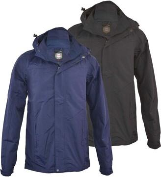 Kam. Mens Waterproof Smart Classic Performance Jacket Coat Big & Tall M-2XL (XX Large Tall