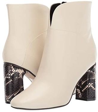 Sigerson Morrison Beatrice (Ivory Lux Nappa Leather) Women's Boots