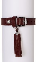 Rebecca Minkoff Tasseled Leather Bracelet