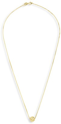Sterling Forever Sparking Crystal Sphere Pendant Necklace
