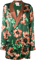 Palm Angels floral print blazer - men - Silk - S