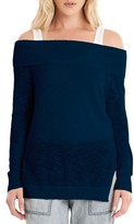 Michael Stars Women's Off The Shoulder Sweater