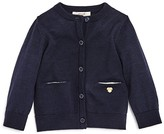 Armani Junior Armani Girls' Wool Cardigan - Sizes 1-3