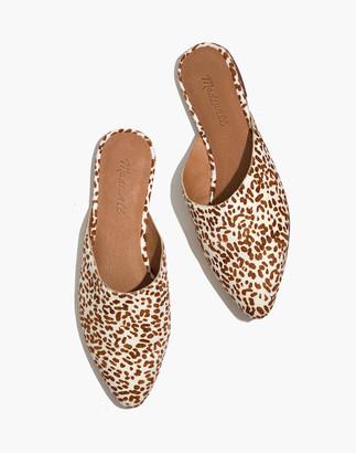 Madewell The Remi Mule in Mini Leopard Calf Hair
