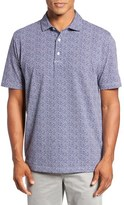 Peter Millar Men's Sailboat Print Polo