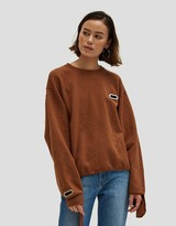 Collina Strada Sweatshirt Grommeted in NUDE64