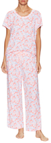 Midnight by Carole Hochman Floral Pajama Set