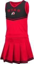 Colosseum Girls Youth Red Utah Utes Pinky Cheer Dress
