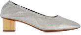 Robert Clergerie Pixie block-heel leather pumps