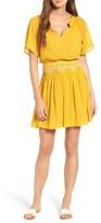 Madewell Women's Smocked Minidress