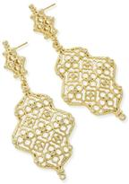 Kendra Scott Filigree Gold Earring