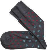 Johnston & Murphy Mixed Diamonds Socks