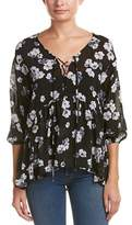 Lucca Couture Floral Blouse.