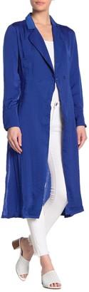 Fanco Soft Satin Trench Coat