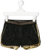 Little Marc Jacobs colour block shorts