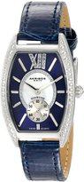 Akribos XXIV Women's AKR471BU Lady Diamond Collection Diamond Swiss Quartz Watch