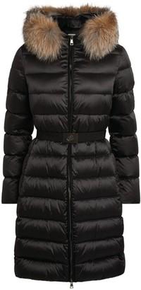 Moncler Fox Fur-Trim Tinuv Jacket