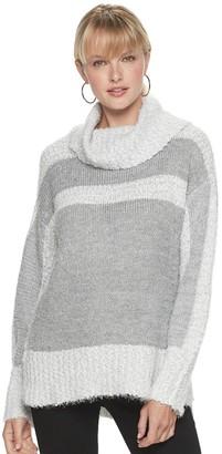 Apt. 9 Women's Eyelash Turtleneck Sweater