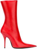 Balenciaga pointed stiletto boots