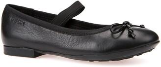 Geox Plie Leather Ballet Flat