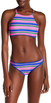 Raisins Swim Stripe Lowride Bikini Bottom