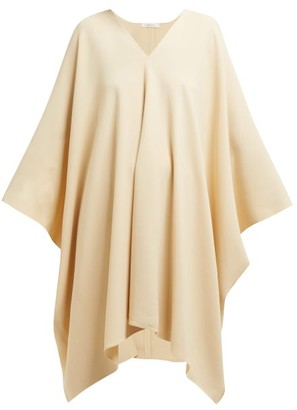 The Row Iona Stretch-crepe Kaftan Dress - Womens - Beige