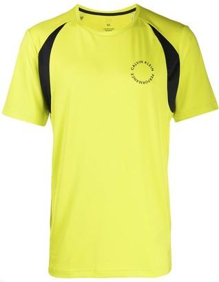 Calvin Klein logo sports T-shirt