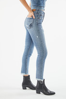 Victoria's Secret The People High-Waisted Distressed Mum Jean
