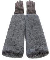 Dolce & Gabbana Mink Long Gloves