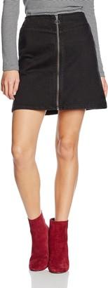 New Look Women's Zip Through Skirt