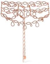 Erickson Beamon Princess Rose Gold-plated Swarovski Crystal Choker - one size