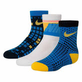 Nike 3-pk. Crew Socks- Boys X-Small