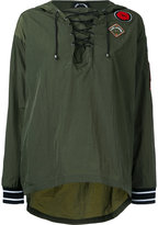The Upside multi-patch hoodie - women - Polyamide - XL