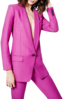 Smythe Longline Shawl-Collar Blazer