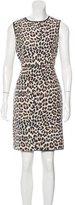 Kate Spade Cheetah Print Sleeveless Dress