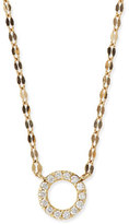Lana Diamond Circle Pendant Necklace
