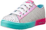 Skechers Twinkle Toes Chit Chat Light-Up Lace-Up Sneaker (Little Kid)