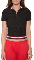 Willow & Clay Women's Crop Polo