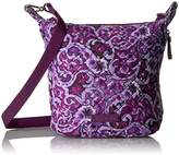 Vera Bradley Carson Mini Hobo Crossbody, Signature Cotton