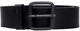 Carhartt Script Belts In Black Leather