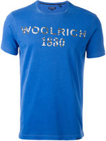 Woolrich logo print T-shirt - men - Cotton - L