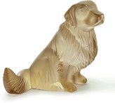 Lalique Golden Retriever Sculpture
