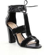 Gianni Bini Meeah T-Strap Block Heel Sandals