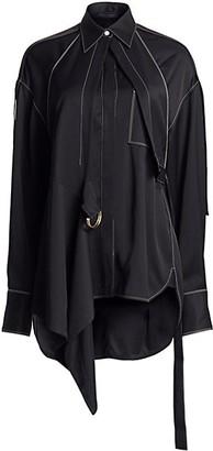 Proenza Schouler Oversized Convertible Draped Shirt
