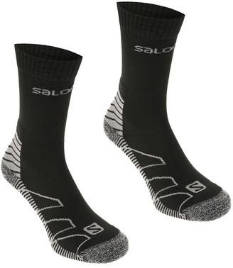 Salomon Lightweight 2 Pack Walking Socks Mens